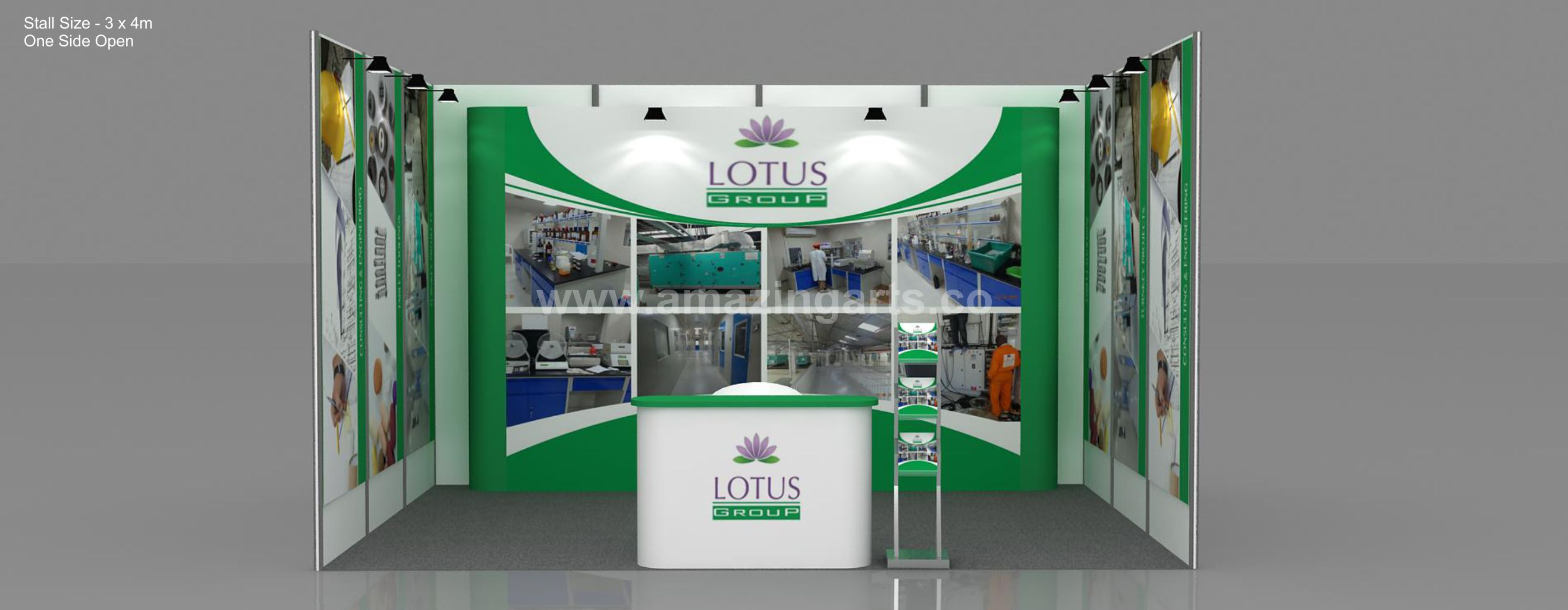 Portable Exhibition Kit Bangalore : Exhibition stall designer exhibition stall design company